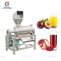 Stainless Steel Pomegranate Passhion Fruit Juice Extractor Juicer Making Machine
