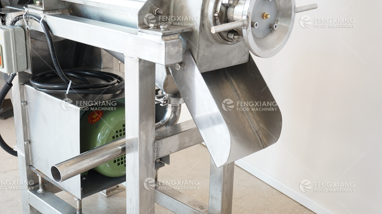 Fruit and Vegetable Juice Crushing Screw Extractor Machine