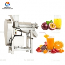 Stainless Steel Fruit and Vegetable Juice Crushing Screw Extractor Machine