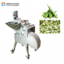 CD-800 Automatic Vegetable Fruit Okra Cube Cutting Dicing Chopping Machine