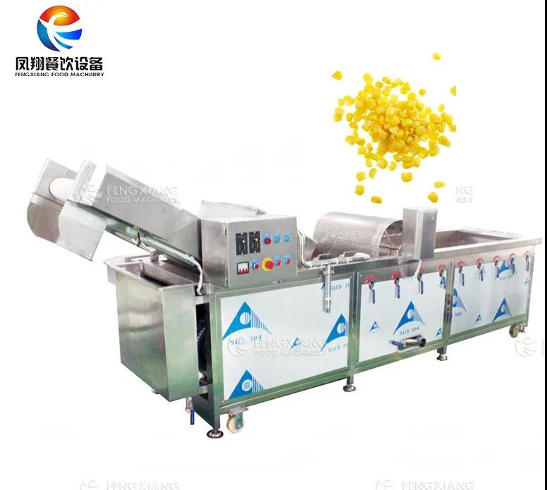 Corn bubble cleaning machine