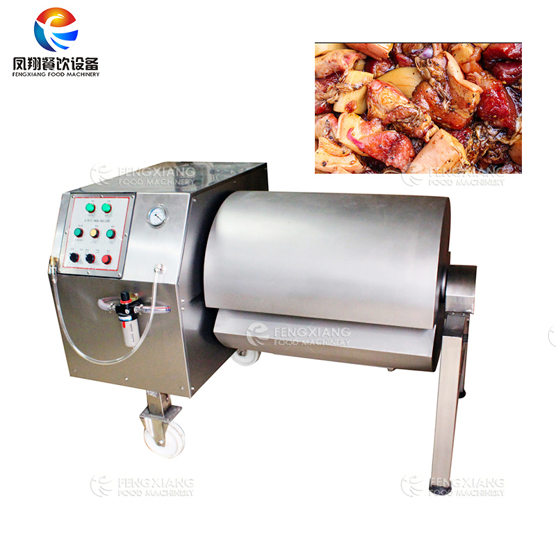 FK-180 Vacuum Roll Meat Mixing Machine Tumbler for Pork Duck Chicken