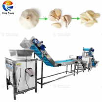 Commercial Type Garlic Peeling Processing Machine Production Line