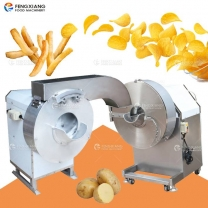 Potato Cutting Machine Sweet Potato Chips Cutter French Fries Making Machine