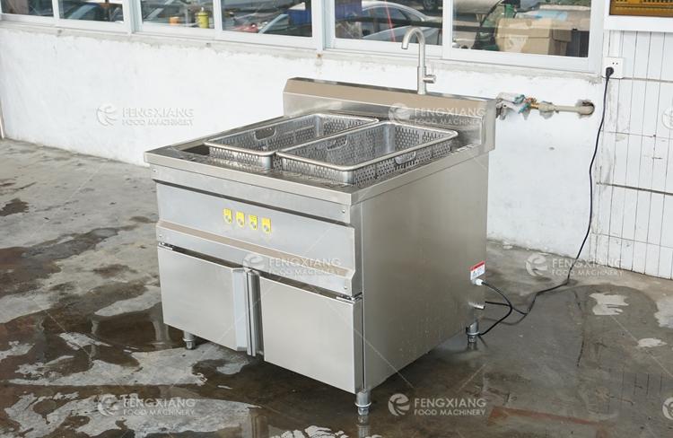 Ozone Disinfection Bubble Vegetable and Fruit Washing Machine