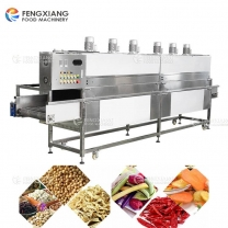Electric Heating Food Air Drying Machine Vegetable Dewatering Dehydrator