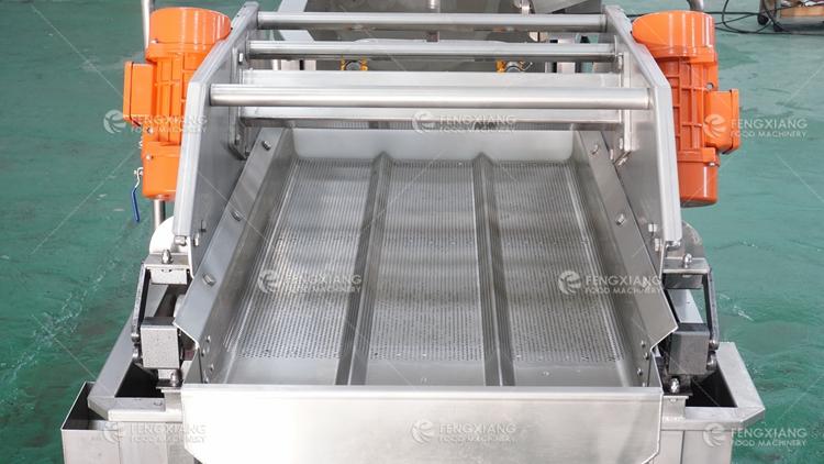Vortex Type Vegetable and Fruit Washing Dewatering Machine