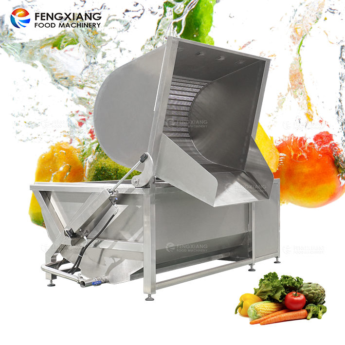 Vegetable and Fruit Bubble Washing Cleaning Machine