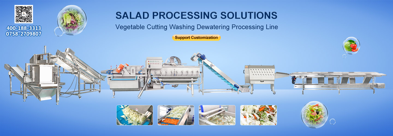 SALAD PROCESSING LINE